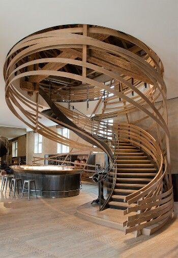 "The ""Brasserie des Haras"" in Strasbourg, France, has been awarded ""World's best restaurant design"""