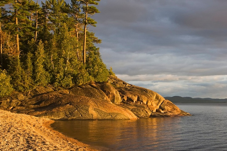 Agawa Bay, Canada.  A beautiful place to visit, I love the north!