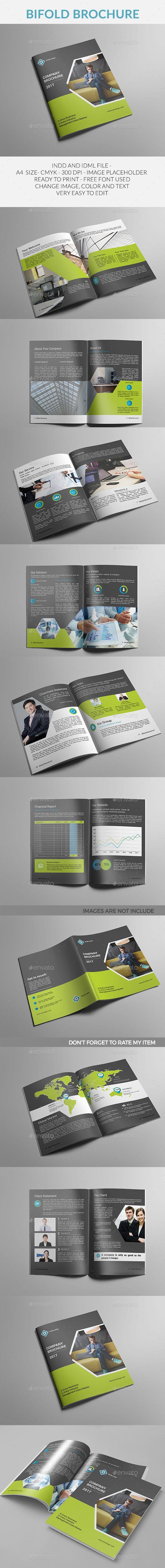 Bifold Brochure Template InDesign INDD