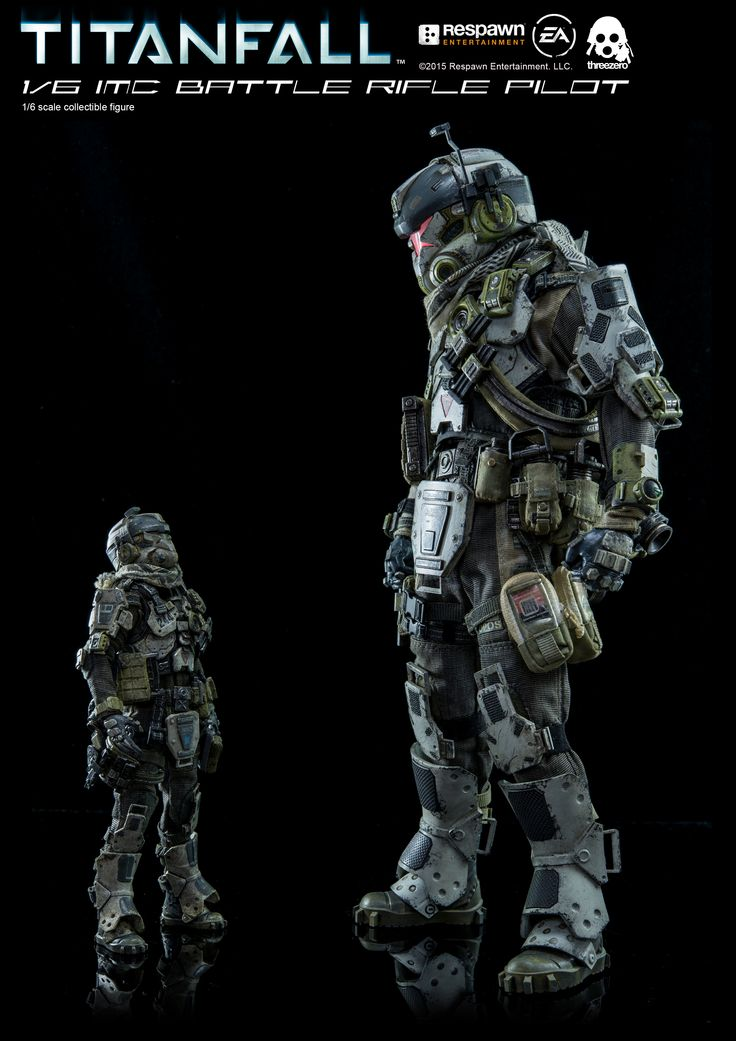 titanfall imc battle rifle pilot