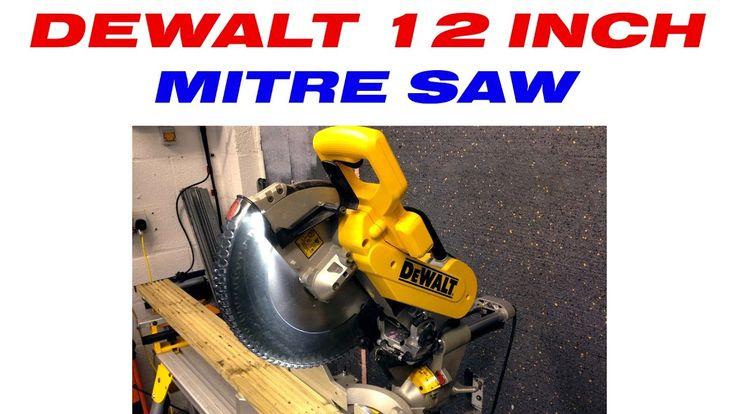 Dewalt DWS780 | 12 inch double bevel sliding mitre saw