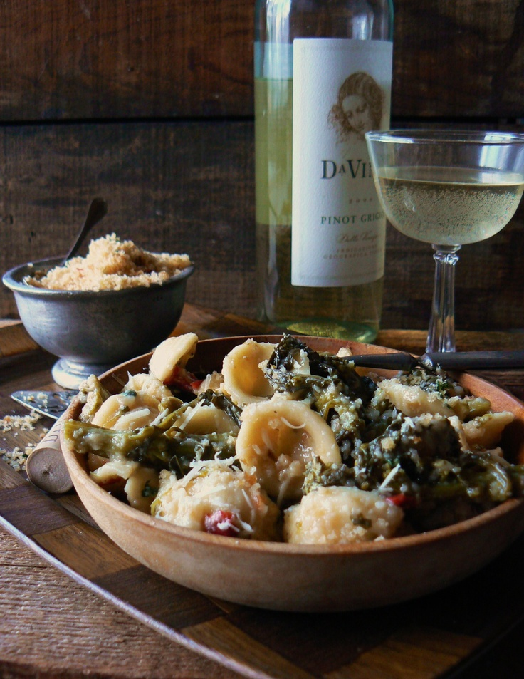 66 best the brooklyn ragazza italian recipes from the blog images broccoli rapini orecchiette with gremolata to view recipe visit my italian american food forumfinder