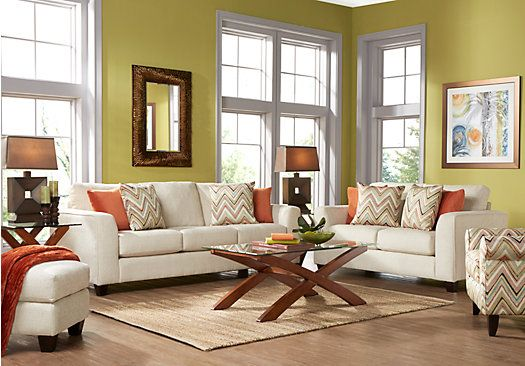 Shop for a seattle 7 pc living room at rooms to go find for Find living room furniture
