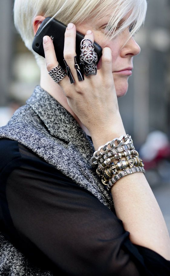 Kate double shot because would you look how cool her bling is. NYC. #KateLanphear