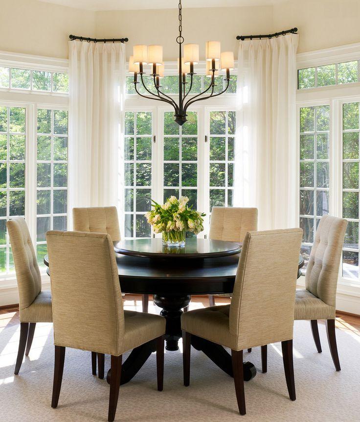 Dining room design august 2014 45 casa y decoracion - Cortinas interiores casa ...