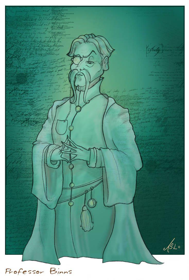 Cuthbert Binns By Https Www Deviantart Com Whiteelzora On Deviantart Harry Potter Characters Harry Potter Art Harry Potter Rpg