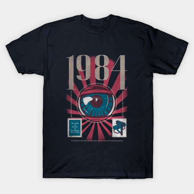 Dystopia V2 T-Shirt - 1984 T-Shirt is $12 today at TeeFury!