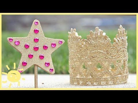 3 Princess Party DIYS - YouTube