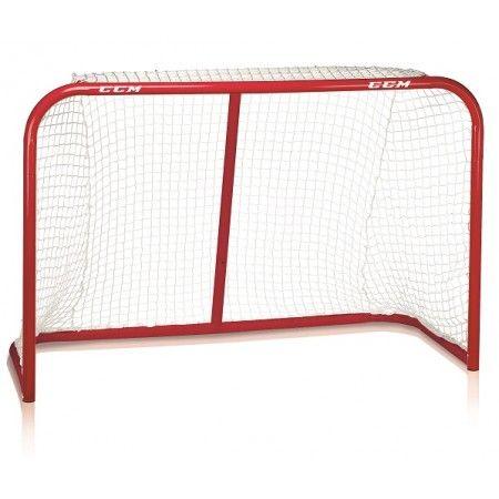 Street Hockeymål från CCM är en målbur för yngre talanger. Hockeymålet är inte tillverkat för att stå och skjuta slagskott två meter ifrån. Men passar för de lite yngre lirarna som inte har lika hårt tryck i skottet. Ej lika stort som en riktig målbur. Passar bra som landhockeymål!  Målet levereras med allvädersnät. Levereras omonterat i kartong och du monterar enkelt ihop målet utan några verktyg.  Fakta Storlek 137 cm. Levereras omonterat i kartong. Svensk monteringsanvisning medföljer.