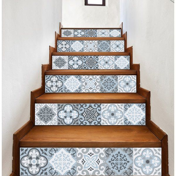 Arla Tile Decals Stair Decals Stair Stickers Rainbow Wall Stickers
