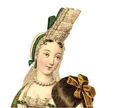 fontage - Mãe de Luis XIV, perdeu seu chapéu em uma ventania, para que não ocorrece novamente ela começou a usar um Fontage.