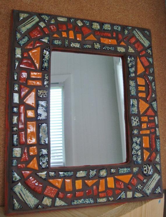 mosaic mirror.