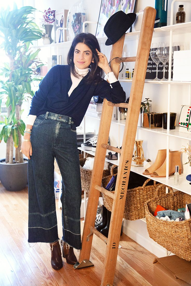 Leandra Medine, aka The Man Repeller, shares her life in 3 looks.