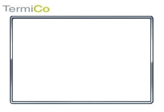 GEBERIT OMEGA 60 ramka ozdobna przyciski chrom szczotkowany 115.086.GH.1