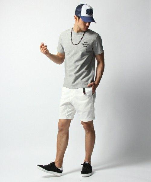 BAYFLOW Men's(ベイフロウ メンズ)のBAYFLOW/【GRAMICCI(グラミチ)】ショートパンツ(パンツ) ホワイト