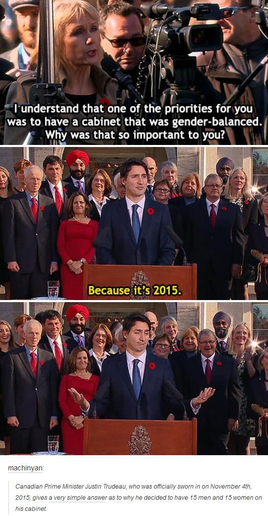 Mic. Drop. Trudeau 2015