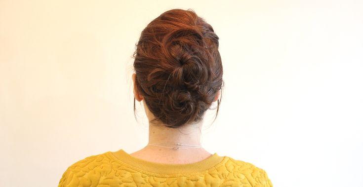Tuto : un chignon désordonné - RED BEAUTY | Blog beauté, mode, lifestyle