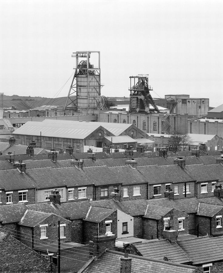 Easington Colliery in Couty Durham