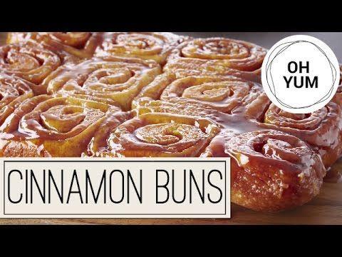 Classic Cinnamon Sticky Buns | Oh Yum with Anna Olson - YouTube