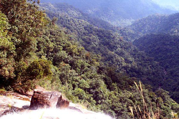 Waterfall at Bach Ma National Park, Hue, Vietnam
