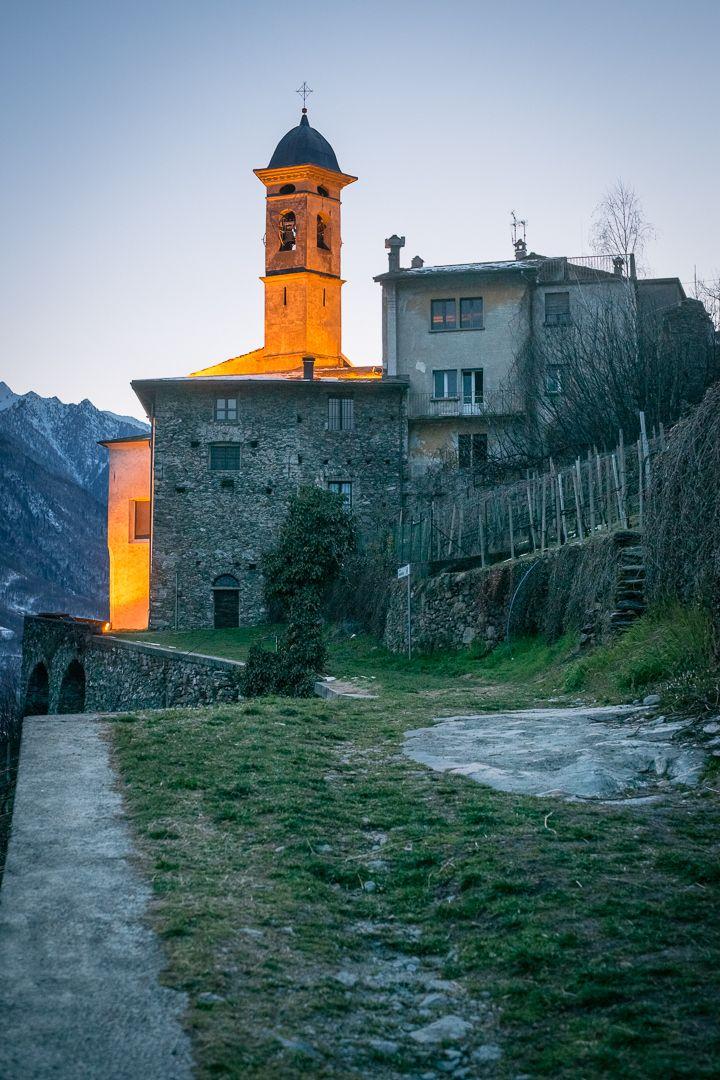 Chiesa della Sassella, Sondrio - Photograph Sassella's church by Ilario Piatti on 500px