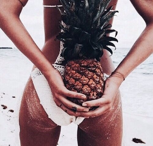 Beach booty goals. Better get squatting #MyFitHoliday #FindYourOwnFit