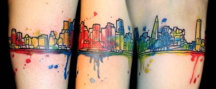 25 Best Ideas About Skyline Tattoo On Pinterest Nyc