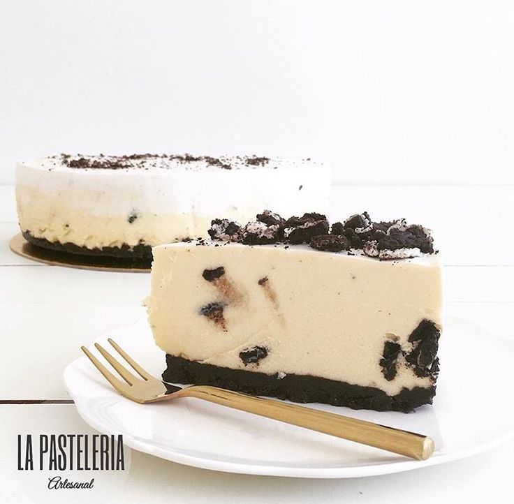 CheeseCake de chocolate blanco y Oreo!