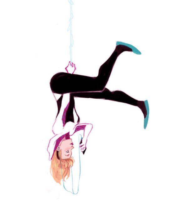 Spider-Gwen by Lisa Villella