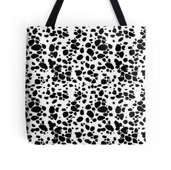 Dalmatian Tote Bag - Available Here: http://www.redbubble.com/people/rapplatt/works/11987510-dalmatian?p=tote-bag&ref=artist_shop_grid