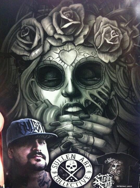 Artist Steve Soto owner Goodfellas Tattoo Studio