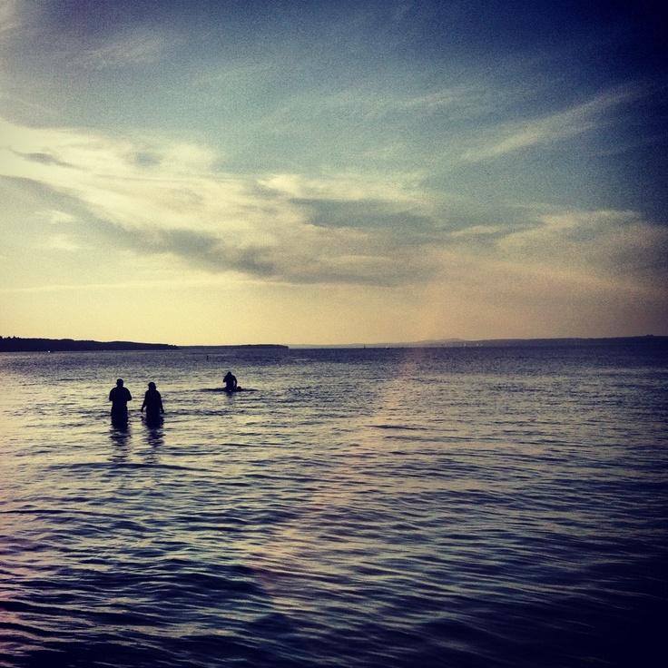 Photography at Sylvan Lake, Alberta.