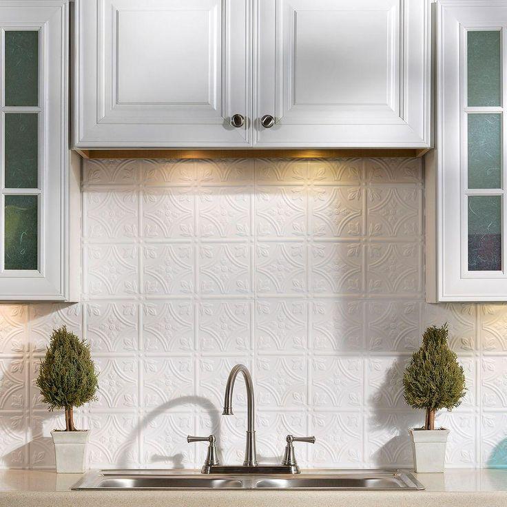Traditional 1 PVC Decorative Backsplash Panel in