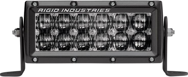 "Rigid Industries 106612 E-Series Driving Light OE Mount DOT/SAE Certified 6"" 12"