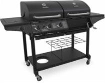 Char-Broil Gas and Charcoal Grill Black 463714514 - Best Buy