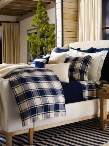 Winter Harbour Collection  - Ralph Lauren Home Bedding.  Current as of Nov, 2015.