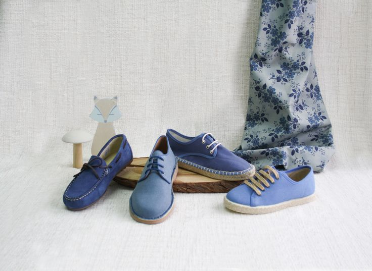 Chaussures Pour Enfants Iris Bleu Seulement Être YzUBxA