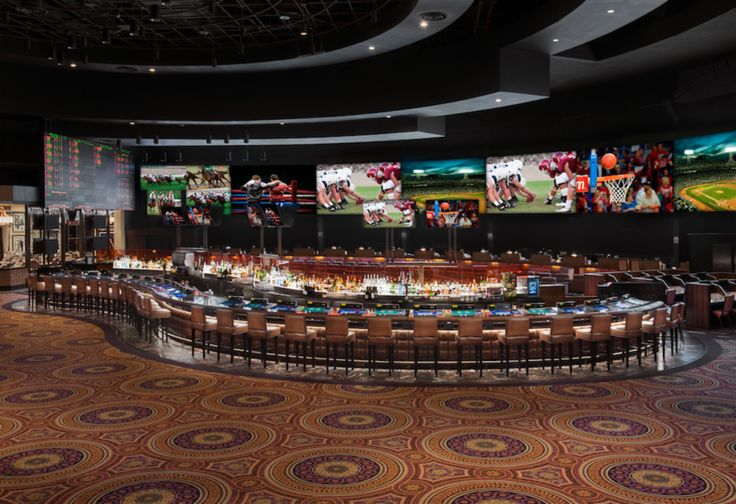 Caesars Palace Race & Sports Book Best Place for March