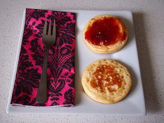 Utterly Organised: Super Easy Homemade Crumpet Recipe
