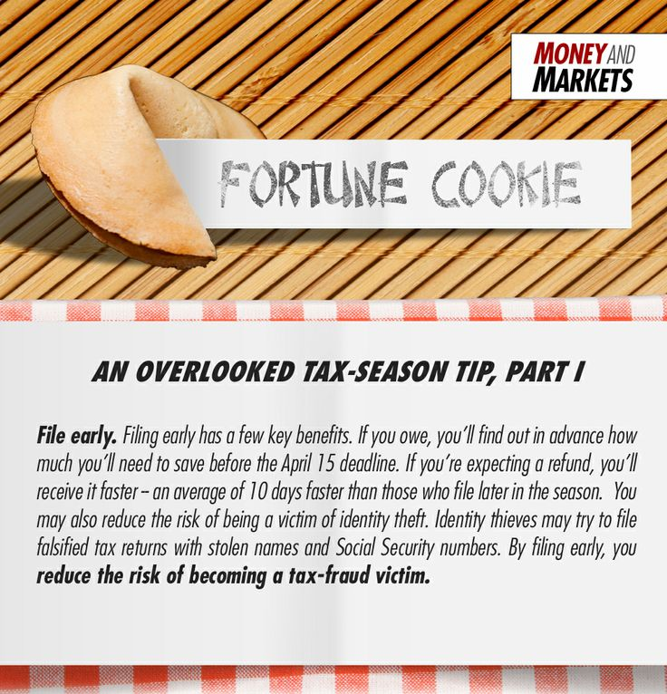 """Fortune Cookie"" is a series of special reports about personal finance."