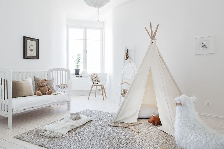 White baby room