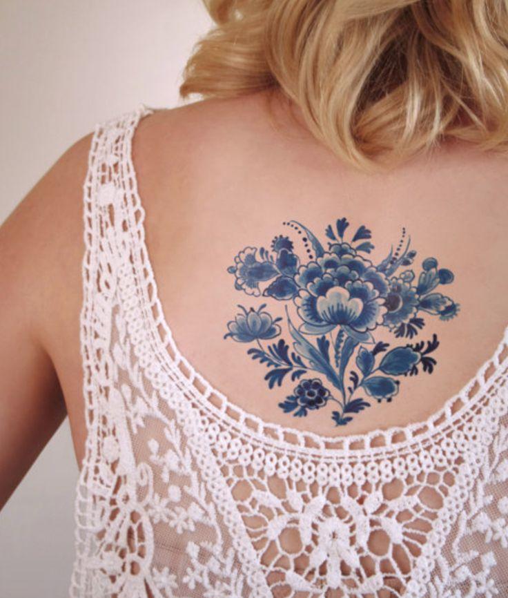 Old school dutch design in a tattoo