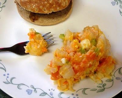 Sweet Potato, Potato Salad