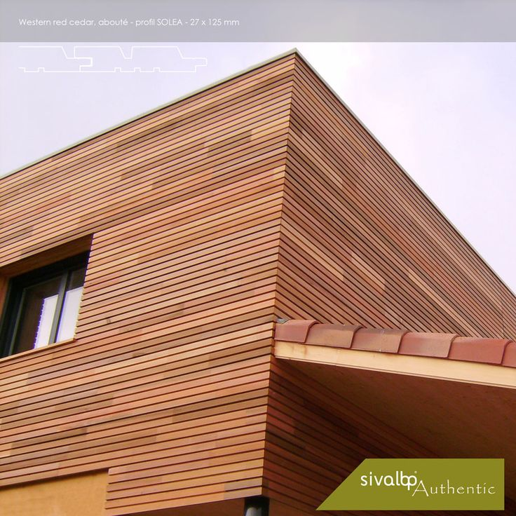 les 20 meilleures images du tableau bardage bois sur pinterest bardage bois maisons modernes. Black Bedroom Furniture Sets. Home Design Ideas