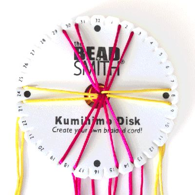 - Dream a Little Bigger Craft Blog - Kumihimo - 12 Strand Spiral Tutorial