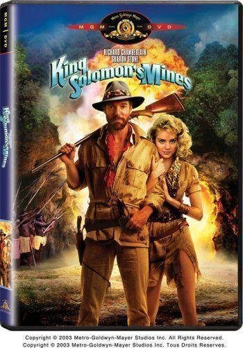 King Solomon's Mines (1985) (6 frightened Sharon Stones out of 10)