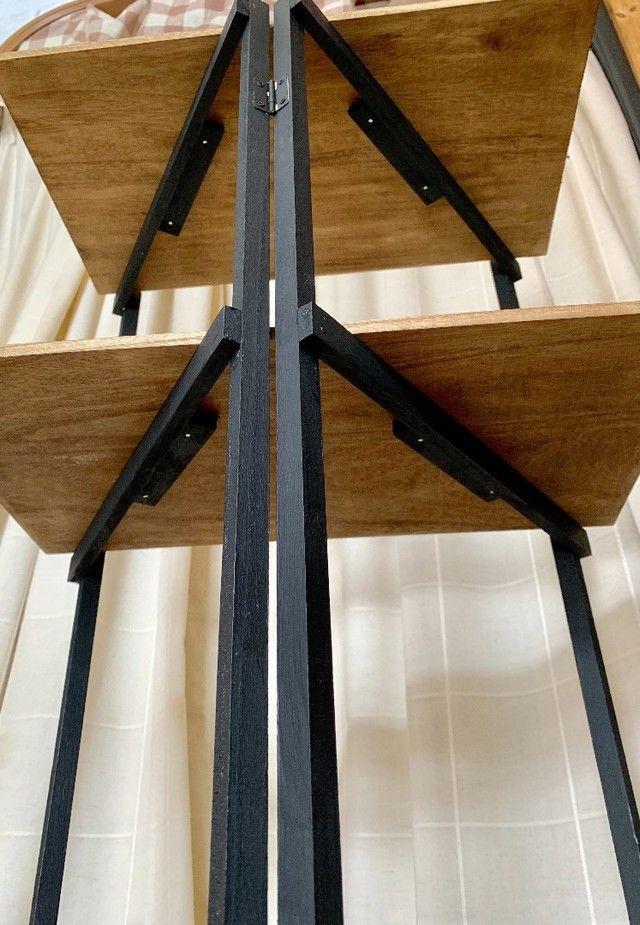 ダイソーで出来ちゃう大きな折り畳みシェルフ 軽いからキャンプ イベントに持っていけるお助けアイテムが作れます Limia リミア インテリア 収納 Diy 棚 作り方 手作りインテリア 100円