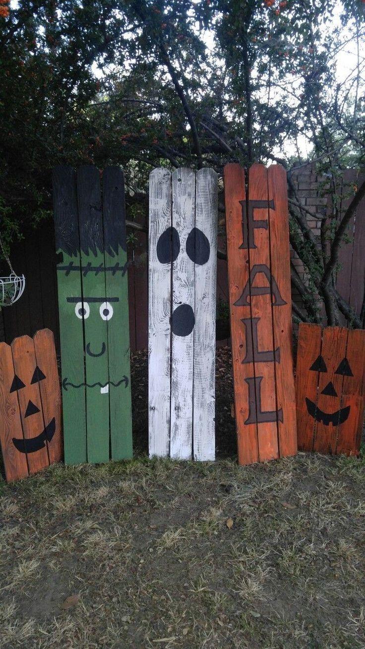 Diy Halloween Pallet Projects 00014 Halloween Wood Crafts