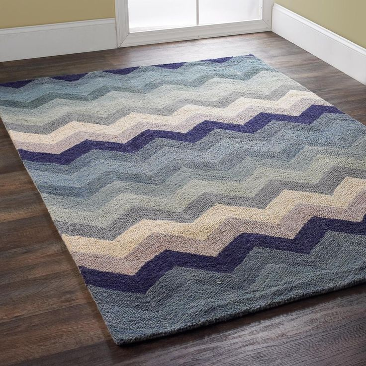 Chevron Denim Wool Rug: 1000+ Ideas About Chevron Rugs On Pinterest