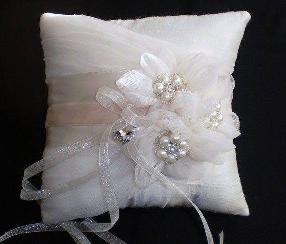 Silk Dupioni Ring Bearer Pillow - Chloe on Etsy $99.65 CAD & 24 best Ring bearer pillow ideas images on Pinterest   Ring bearer ... pillowsntoast.com